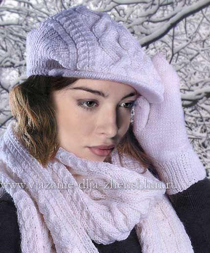 белая вязаная кепка спицами аксессуары вязание вязаный капюшон