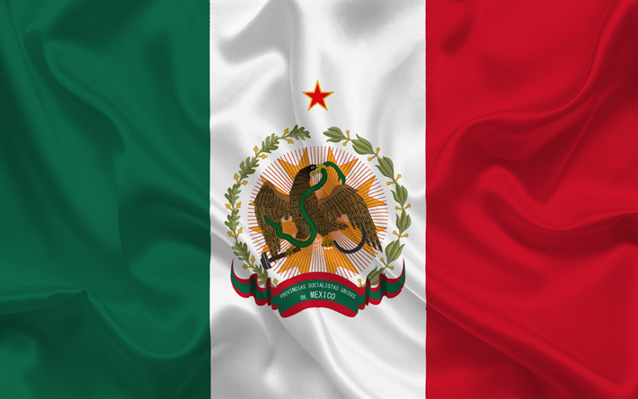 Download Wallpapers Mexican Flag Mexico South America Latin America Flag Of Mexico Besthqwallpapers Com Mexico Flag Flag Flags Of The World