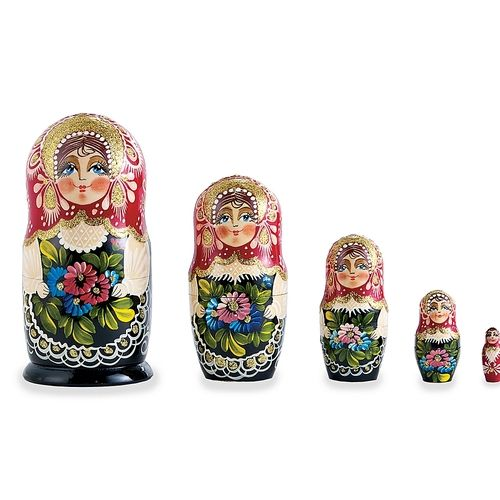 Love these Hand-Painted Russian Nesting Dolls