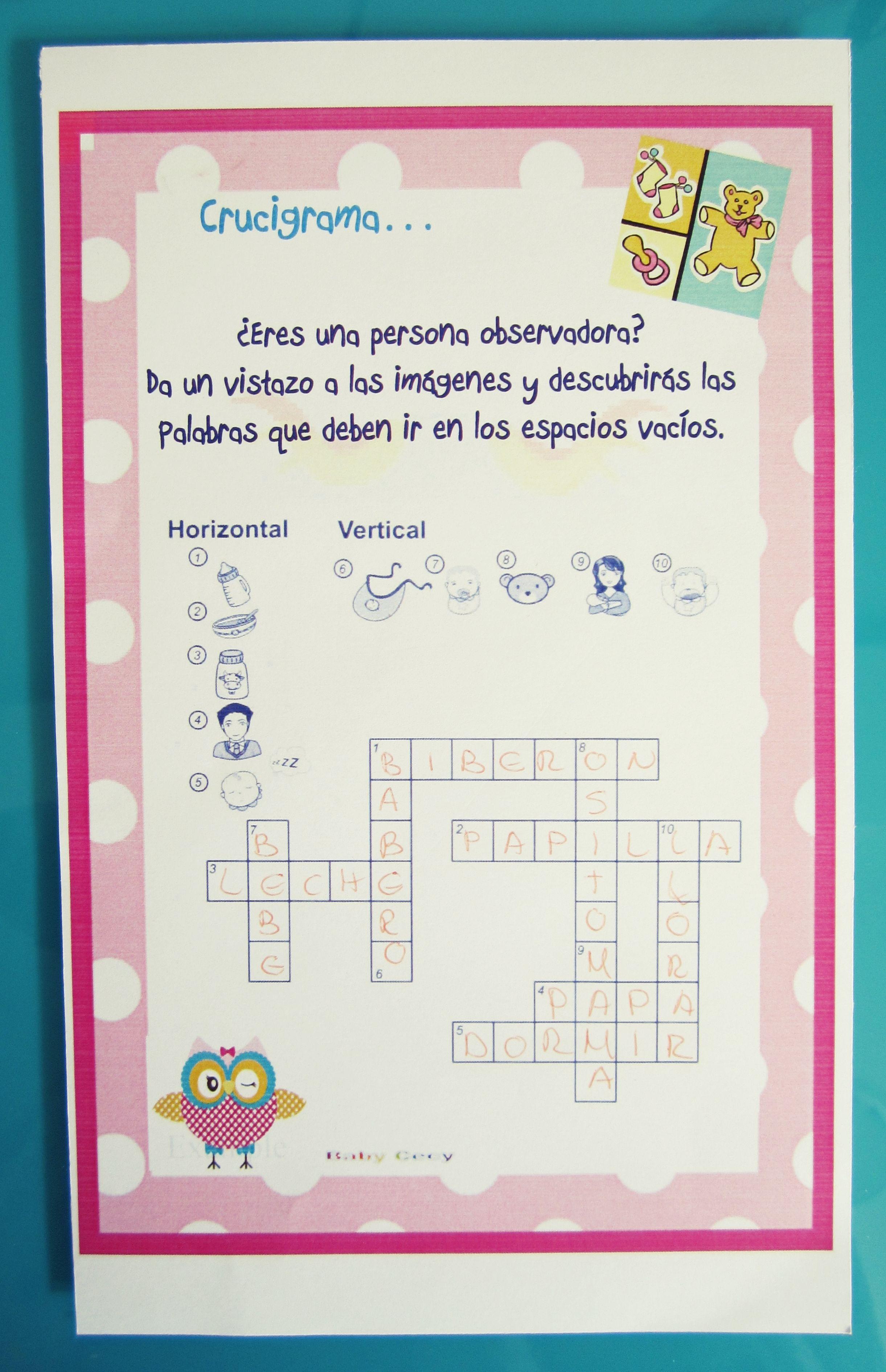 Juegos Para Baby Shower Mixto Buscar Con Google Juegos Bby Shower