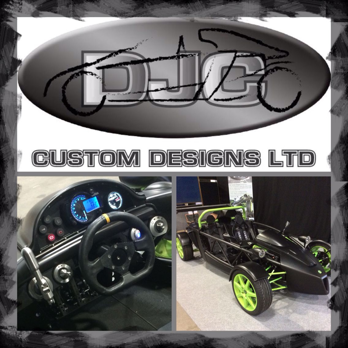 Vstorm kit car by DJC Custom Designs Ltd