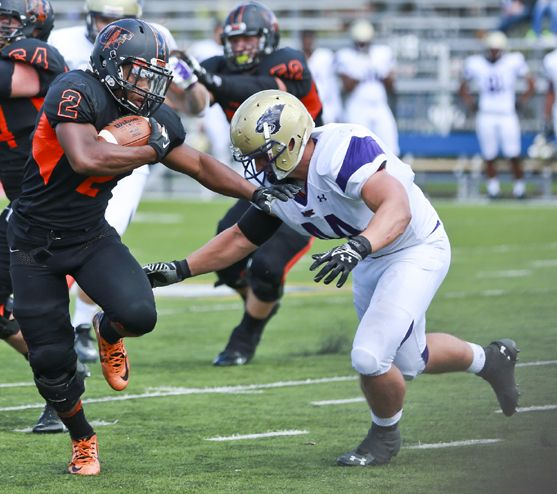 Uf Football Oilers Find Way To Win Against Mckendree Uf