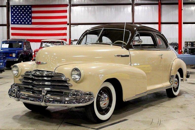 1947 Chevrolet Fleetmaster Chevrolet Classic Cars Chevy