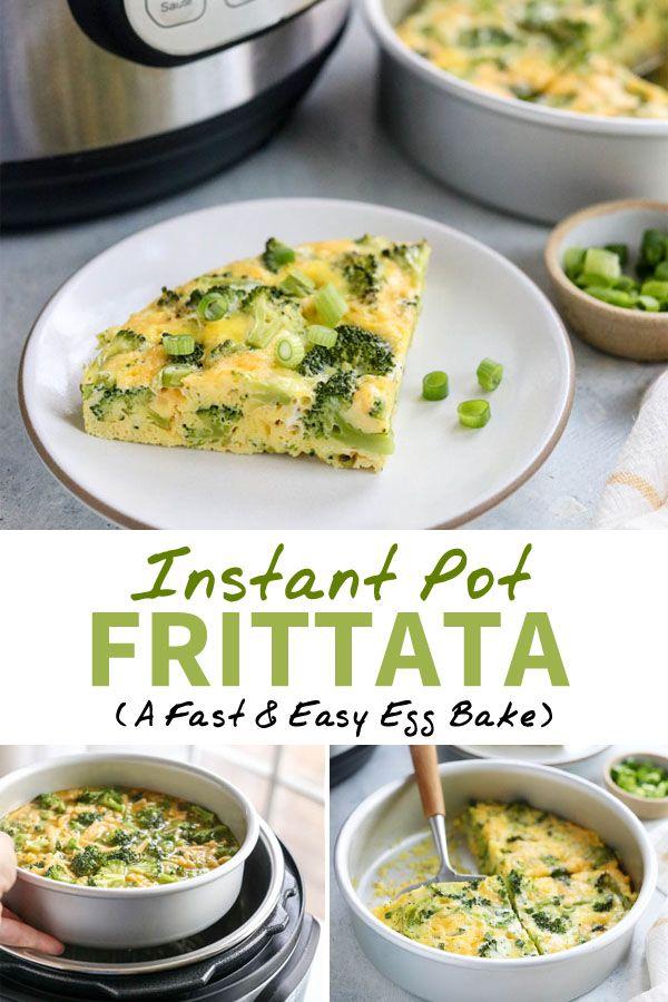 Instant Pot Frittata (Egg Bake) #eggmeals