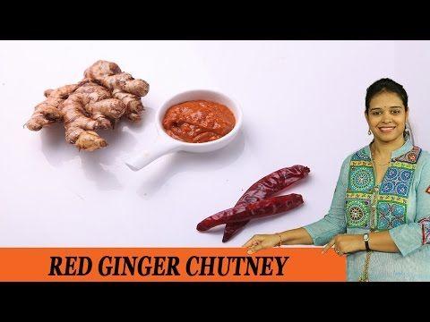Allam pachadi, Ginger pickle,  red ginger p | vahrehvah