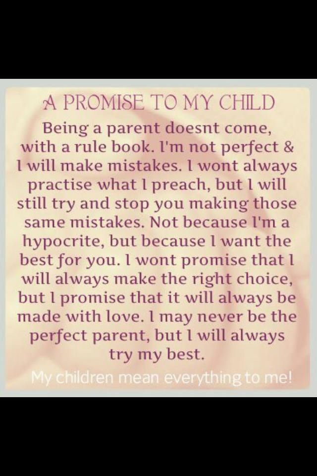 To my Children...