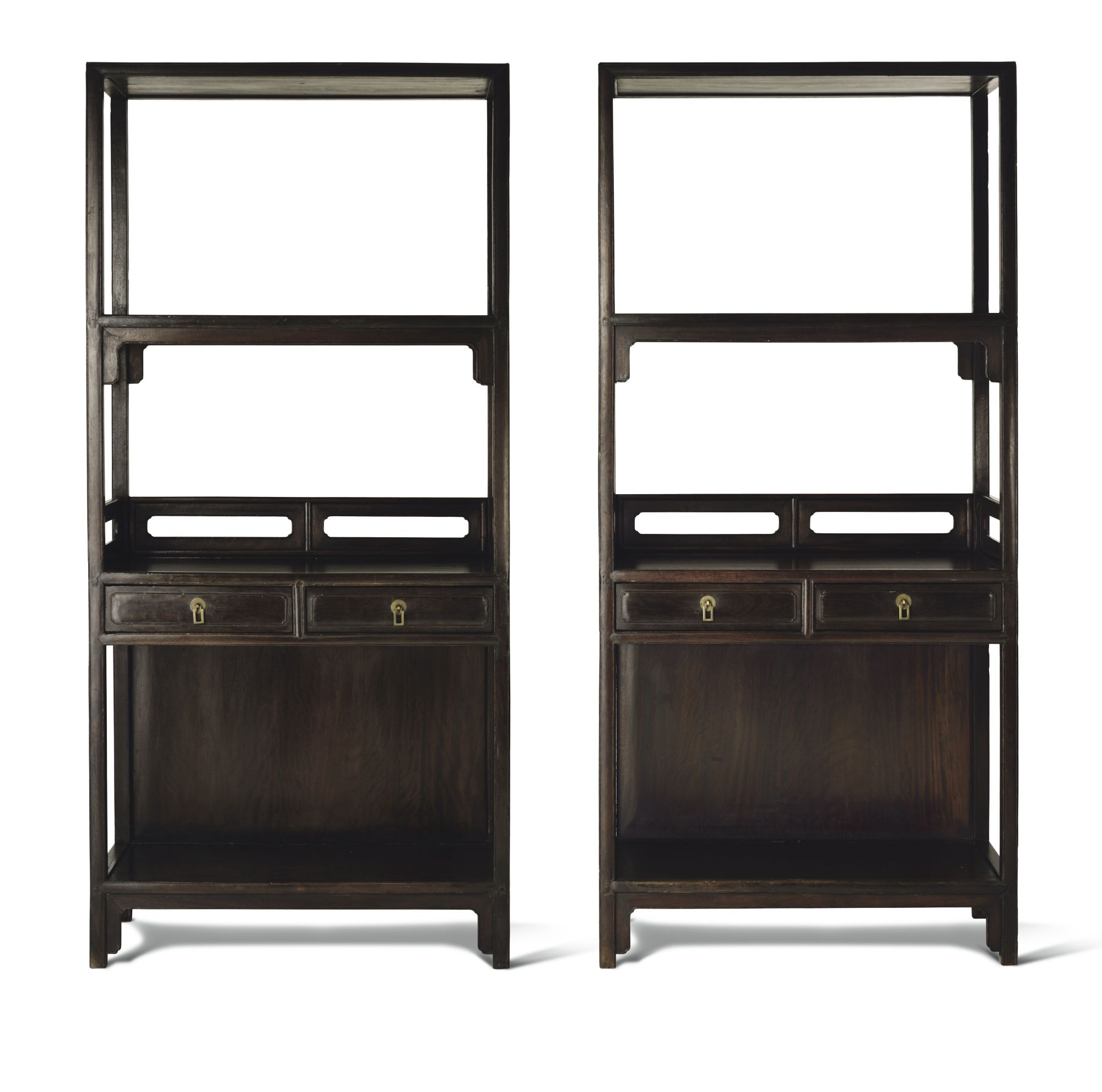 a superb pair of tieli wood bookshelves u003cbr u003e17th century lot rh pinterest com