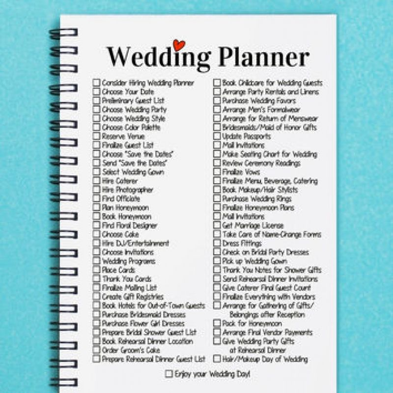 How To Make A Wedding Planner Book Mycoffeepot Org