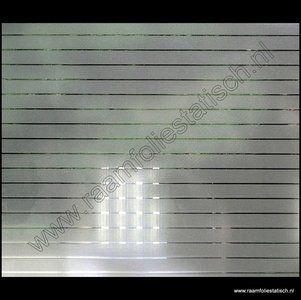 Statisch raamfolie strepen breed raamfolie ideeen for Plakfolie decoratie