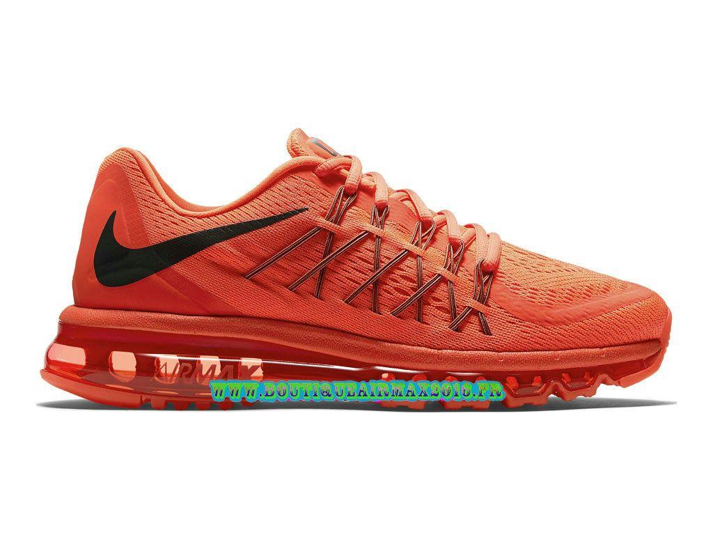 san francisco f0525 e0a97 Nike Air Max 2015 Chaussures Nike Pas Cher Homme Crimson Lumineux Crimson  brillante 724367-