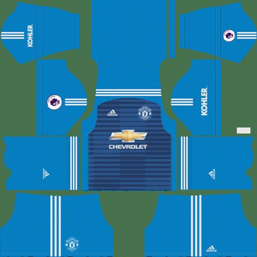 Manchester United Kits Dls 2019 Dream League Soccer Kits 512x512 Manchester United Soccer Kits Manchester United Goalkeeper Kit