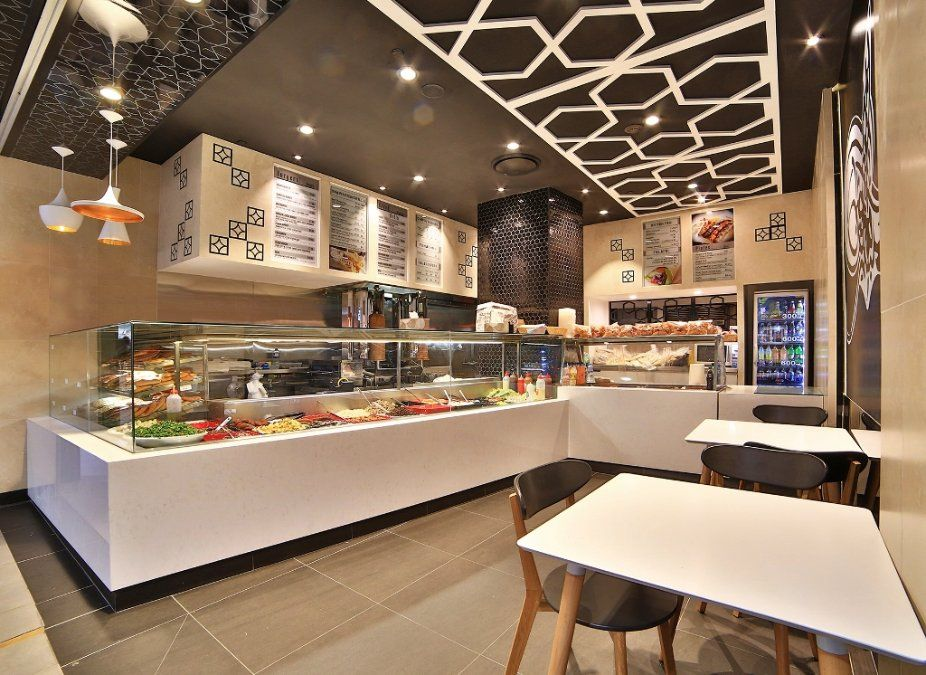 Take away shop interior design buscar con google all