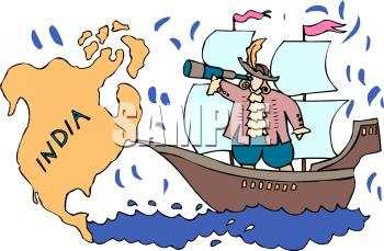Columbus Day Clip Art Free Fun Homeschool Columbus Theme History For Kids
