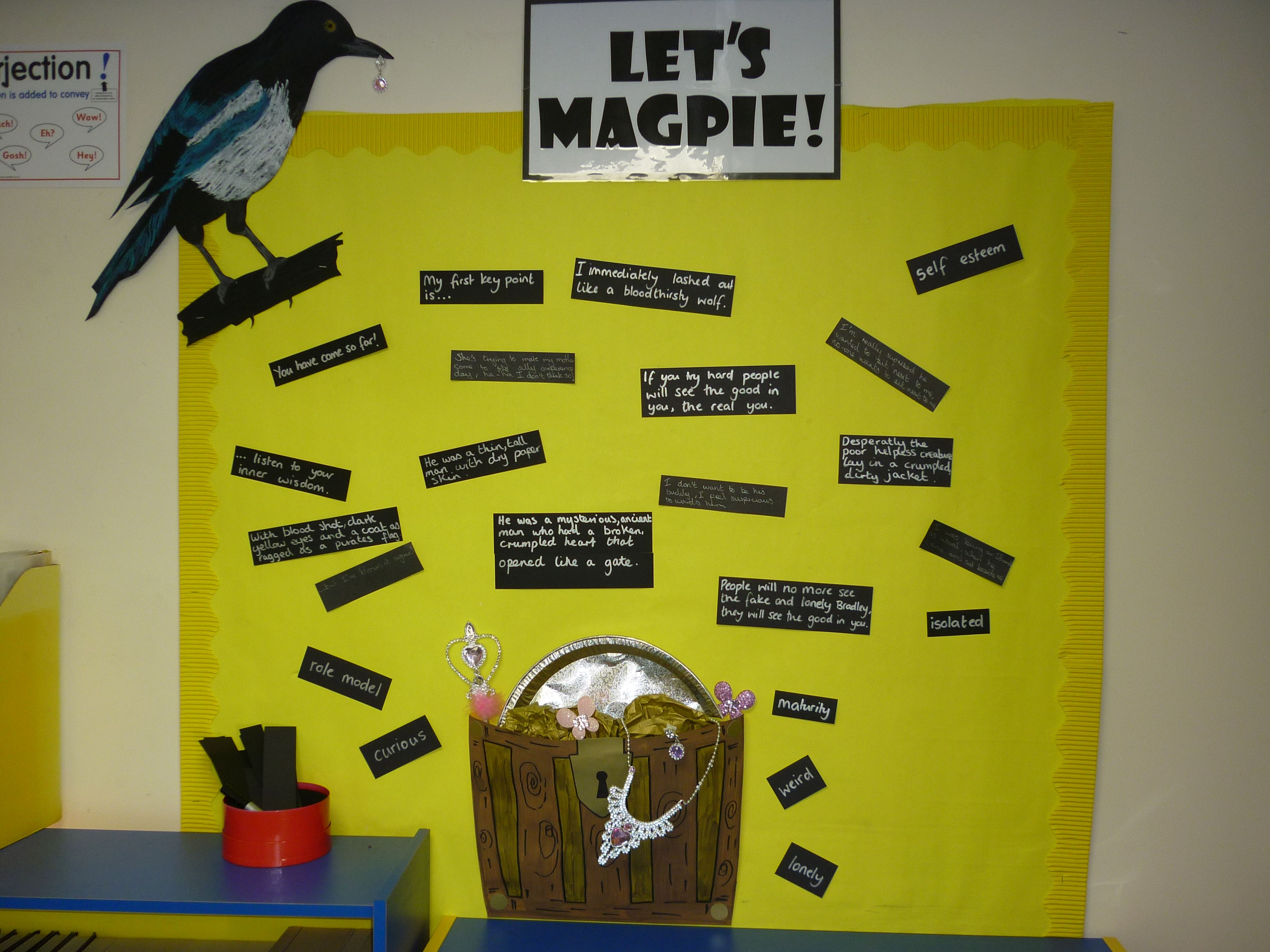 magpie wall - Google Search | Classroom | Pinterest | Magpie ...