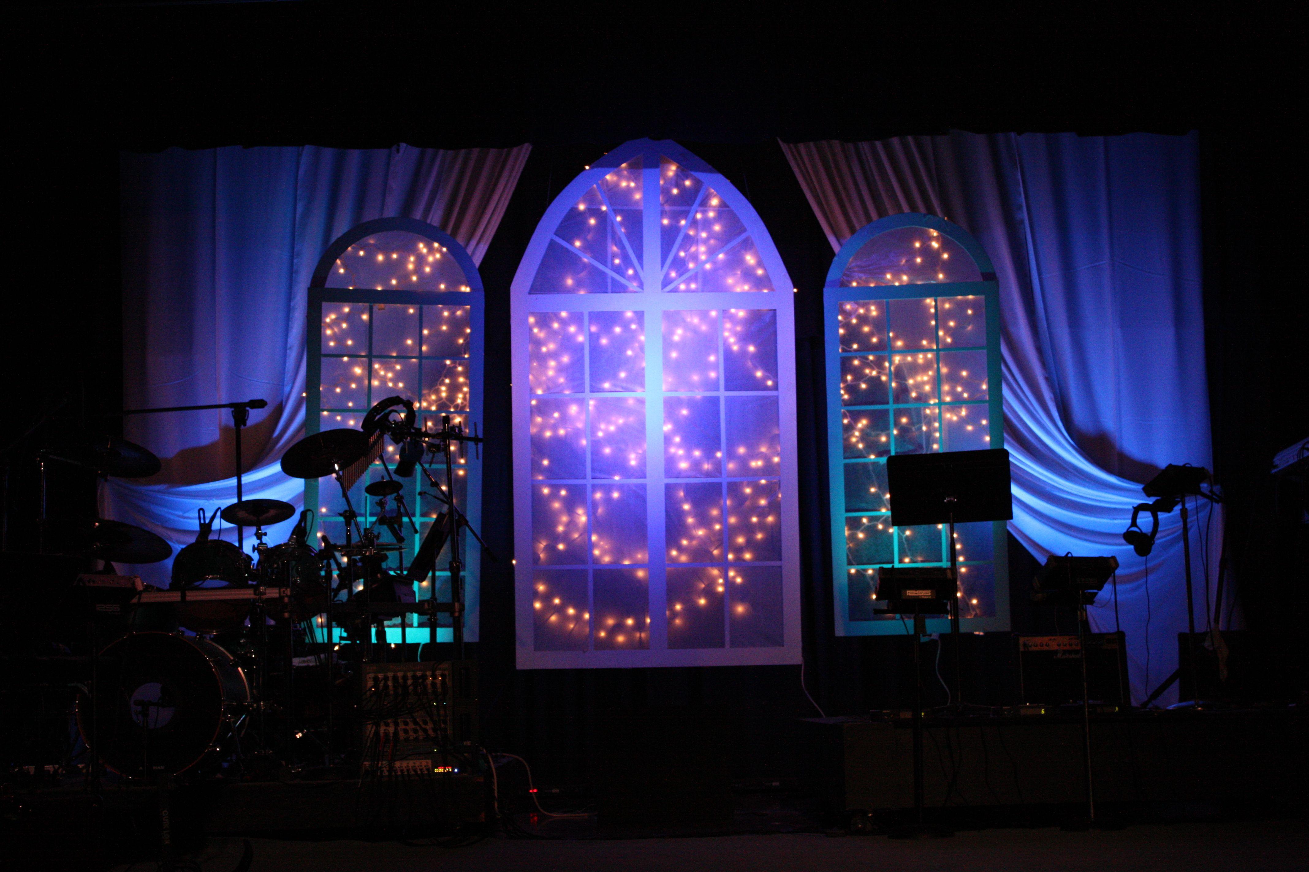 stage design ideas   Starry Night Love   Church Stage Design Ideas ...
