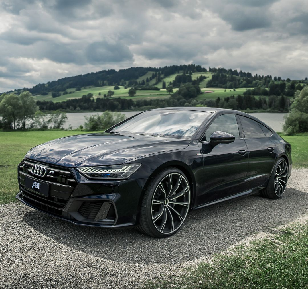 """New Audi A7 With ABT SPORT GR In 22"""" #ABT #Audi #A7"""