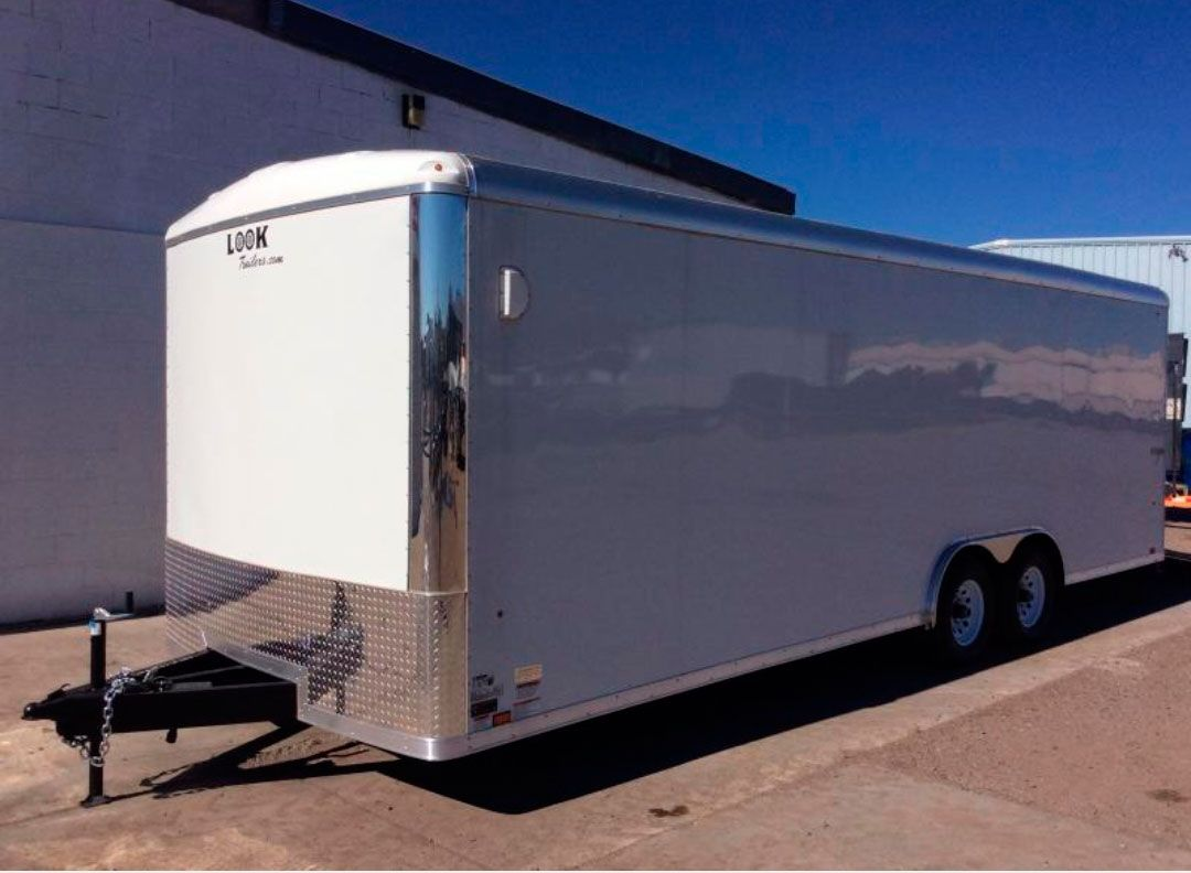 Cargo Moving Trailer Rental with Self & Moving Truck