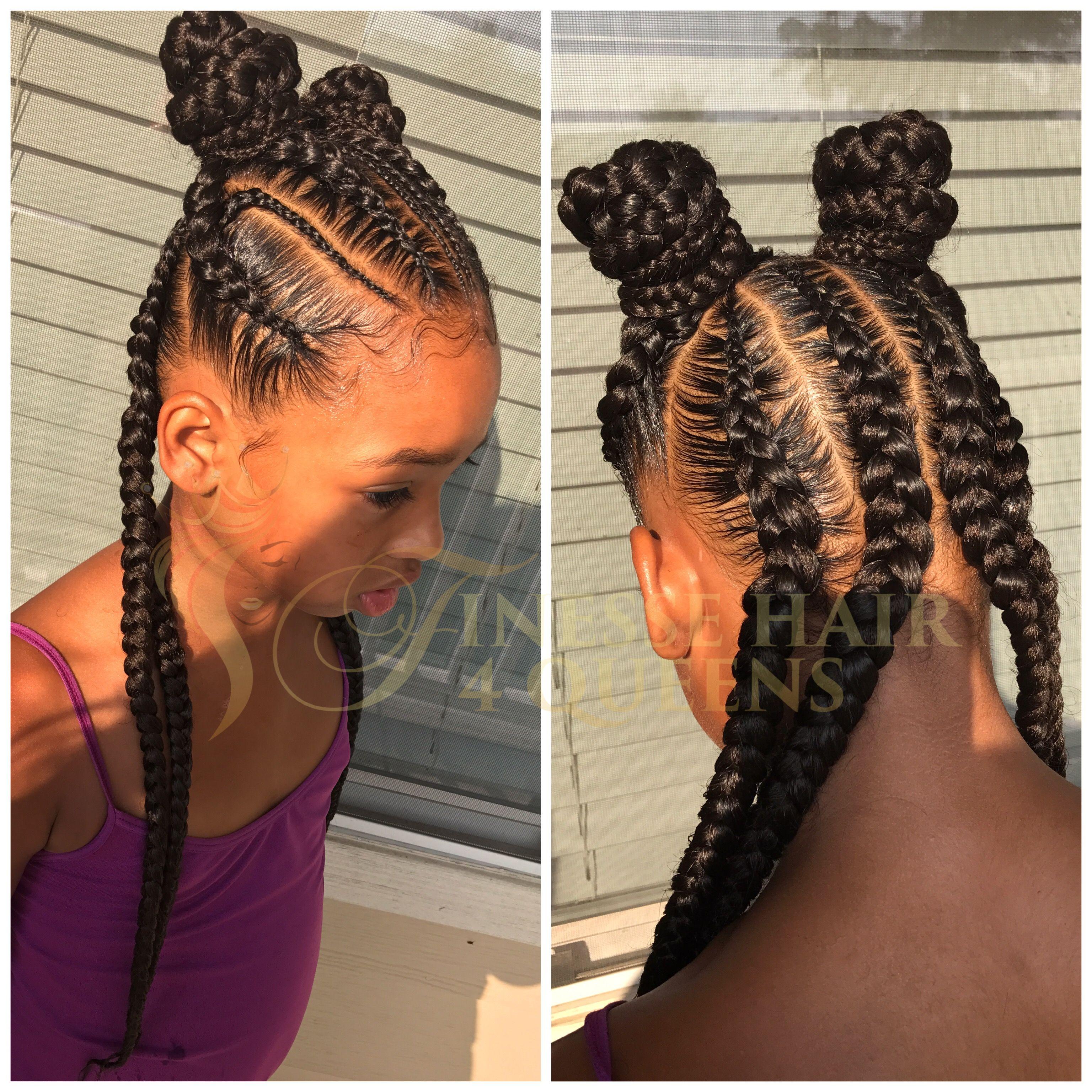 Pin by teneisha greaves on black girls hairstyles pinterest kid