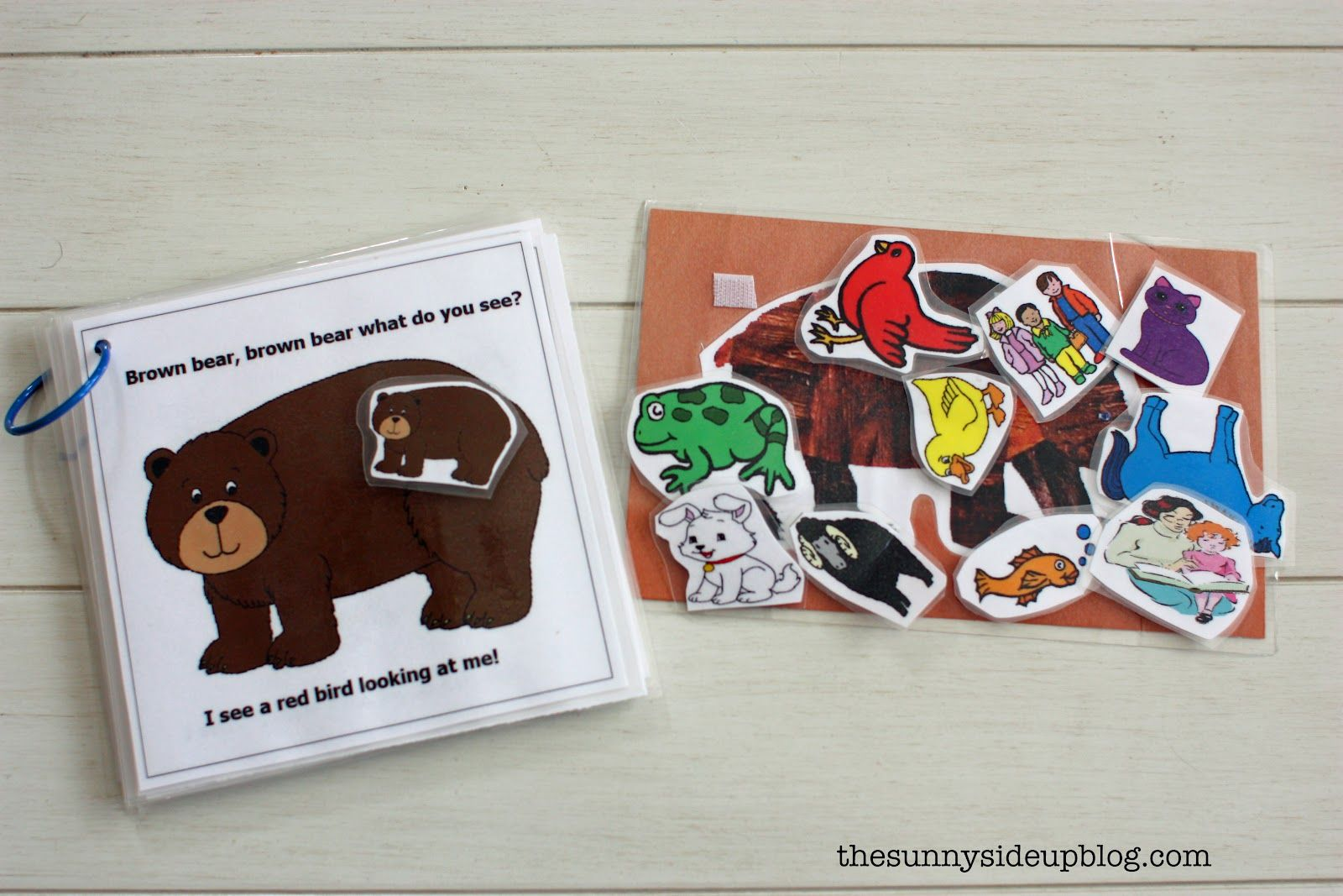 Brown Bear Brown Bear Matching Book For Toddlers