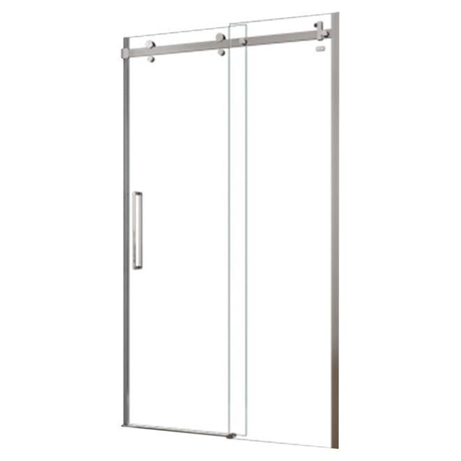 Halo Frameless Sliding Shower Door 48 X 78 Rona Upstairs