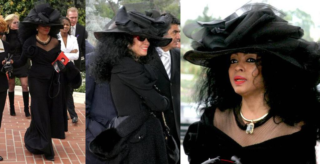 December 17 2006 Diana Ross At The Funeral Of Richard Pryor