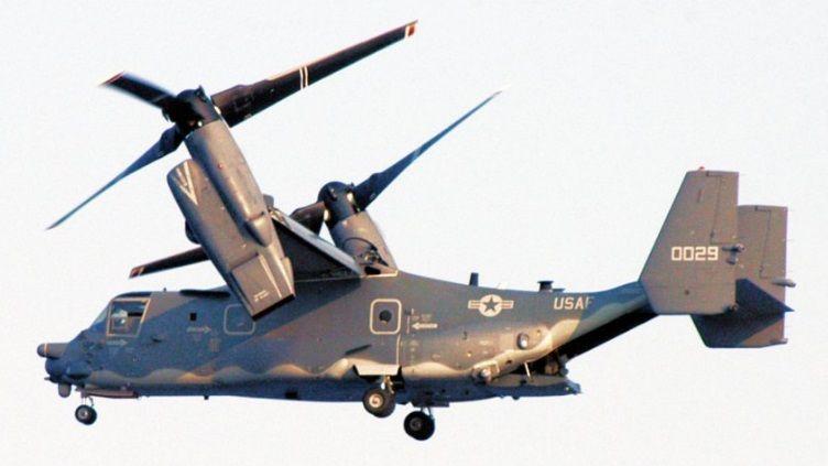 V 22 Osprey Gunship