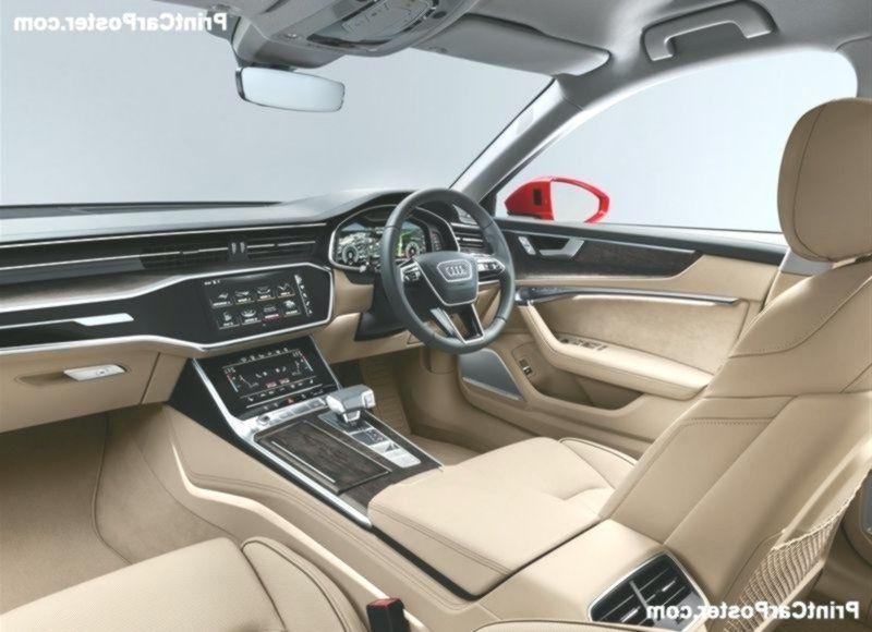 Audi A6 2020 Poster In 2020 Audi A6 Audi Car Posters