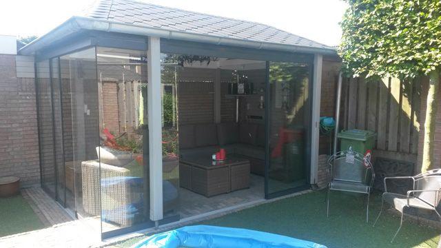 Tuinhuis glas design gardenhouse t tuinhuis serre en
