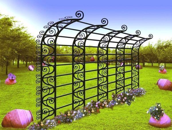 Metal Garden Trellis | Window The Black Worthy Of A Wrought Iron Hooks  Benches Wall Trellis