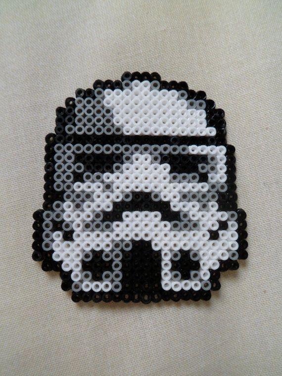 Star Wars Stormtrooper Pixel Art Hamma Beads By