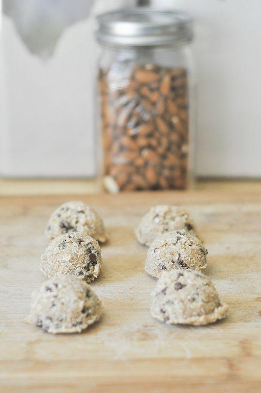 Chocolate Chip Macaroons ~ {never} homemaker