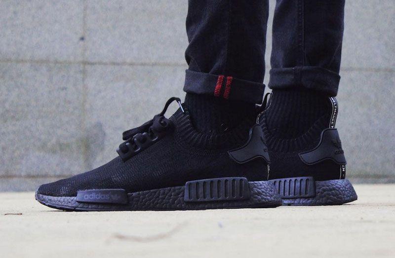 10 Adidas Nmd Custom Sneakers We D Like To See More Of Adidas Nmd Black Adidas Nmd Black Adidas