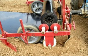 Plastic Mulch Layer For Bcs Tractor With Images Mulch Tractor
