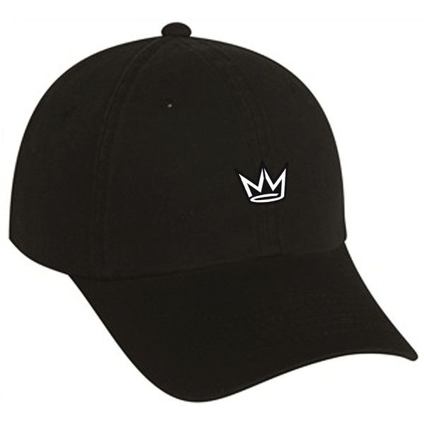 3152b252fc0 NY STATE OF MIND NY Crown Dad Hat  Black ( 29) ❤ liked on Polyvore  featuring men s fashion