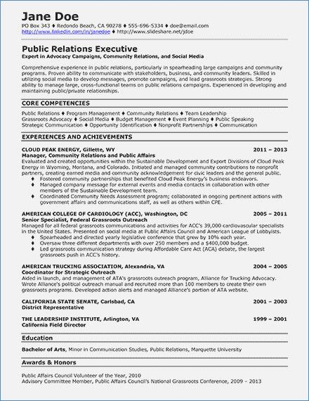 Resume Format For Ats Resume format, Resume format examples and