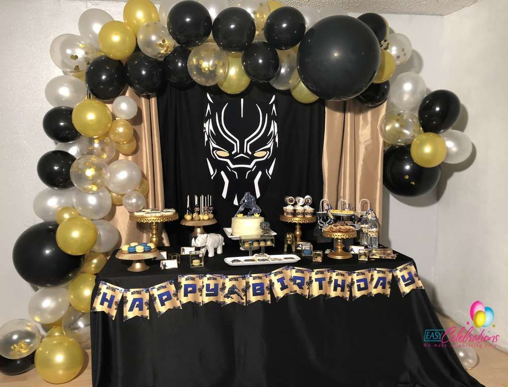 Black Panther Birthday Party Ideas