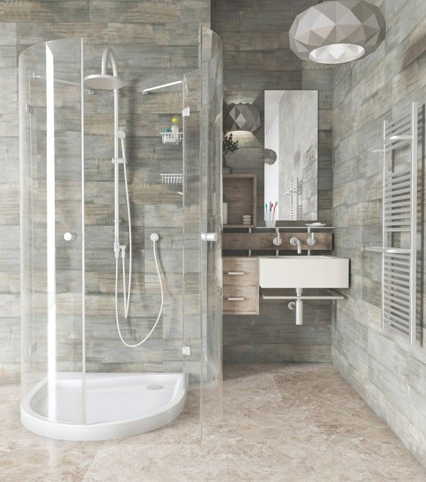 Walk In Shower For Small Bathrooms
