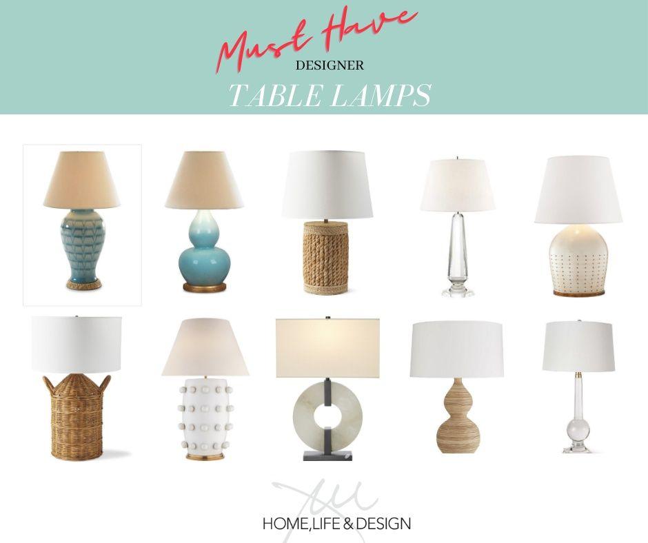 Light Up Your Life With Designer Table Lamps Shop Jill Shevlin Design For All Your Home Decor Needs Jillshevl Table Lamp Design Creative Interior Design Lamp