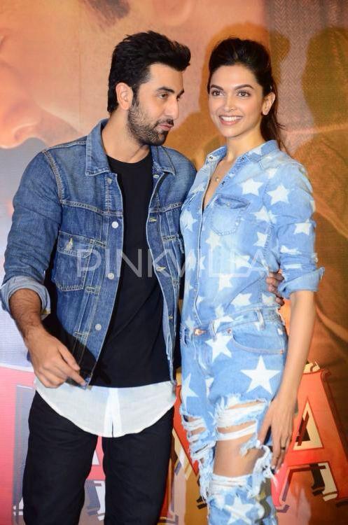 Ranbir Deepika And Their Super Hot Chemistry At Tamasha Promotions Deepika Padukone Most Beautiful Indian Actress Bollywood Actress