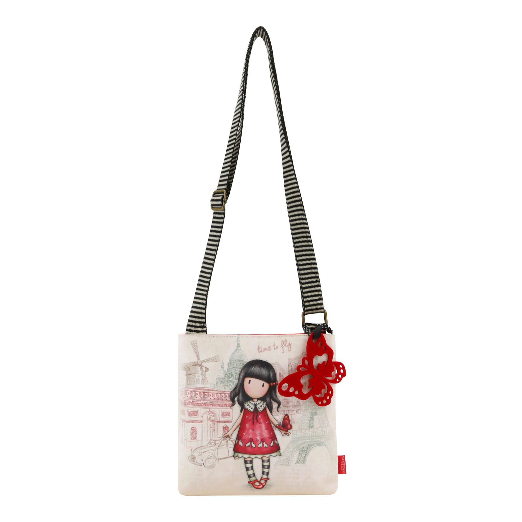 Malá kabelka přes rameno - Time To Fly od firmy SANTORO Gorjuss ... 094d9bb5552
