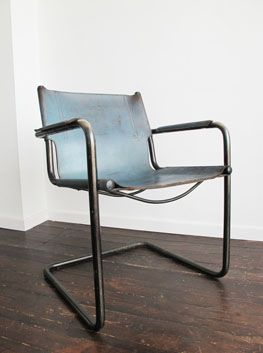 Intage Leather U0026 Steel Cantilever Chair By Matteo Grassi, Italy. Circa  1960u0027s. Very Much In The Style Of The Classic Cantilever Chairs By Stam U0026  Breuer, ...