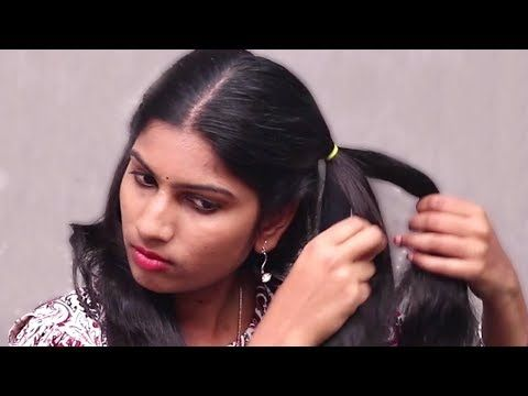Simple Hairstyles for girls || Self Hairstyles Tutorials 2018 || Self Hairstyles for party ...