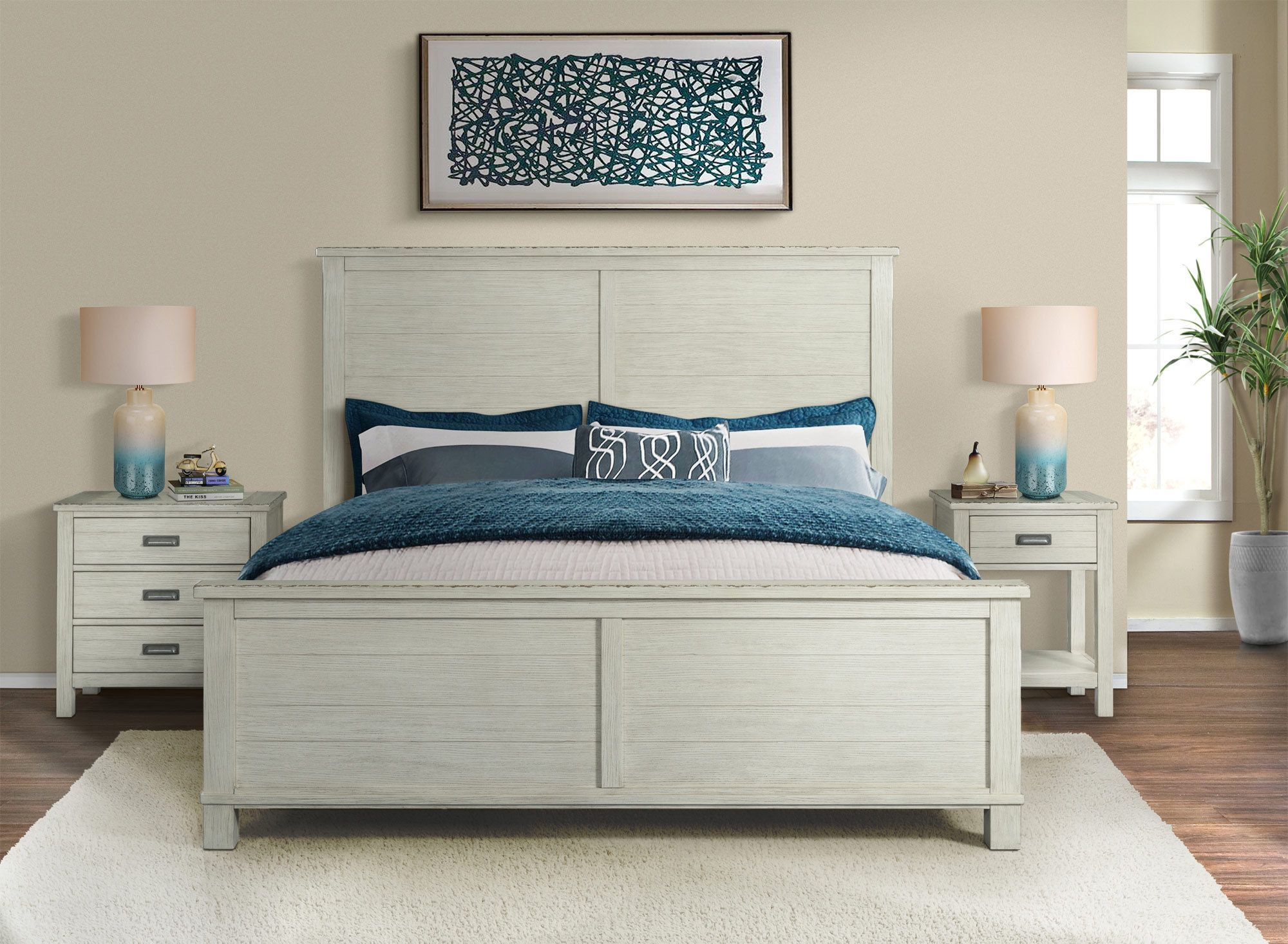 Aberdeen Queen Panel Bed Riverside Furniture Home Gallery S