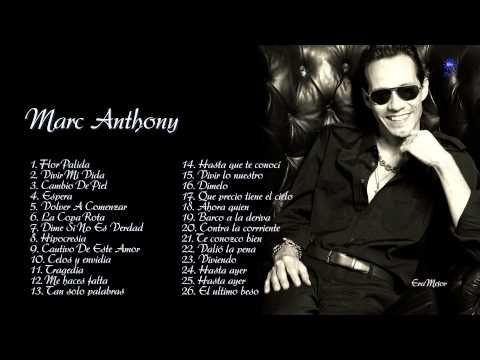 Marc Anthony Sus Mejores Canciones Mix Románticas 2016 Lo Mas Nuevo Youtube International Music Music Express Music