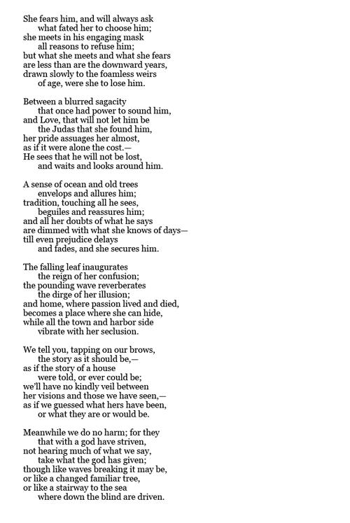 eros turannos poem