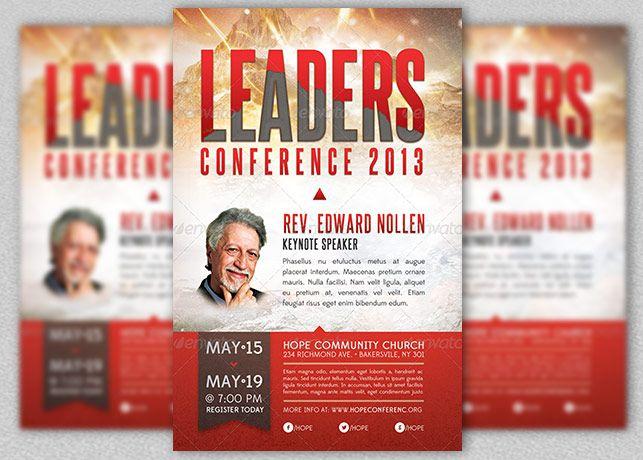 speaker flyer template google search leadership. Black Bedroom Furniture Sets. Home Design Ideas