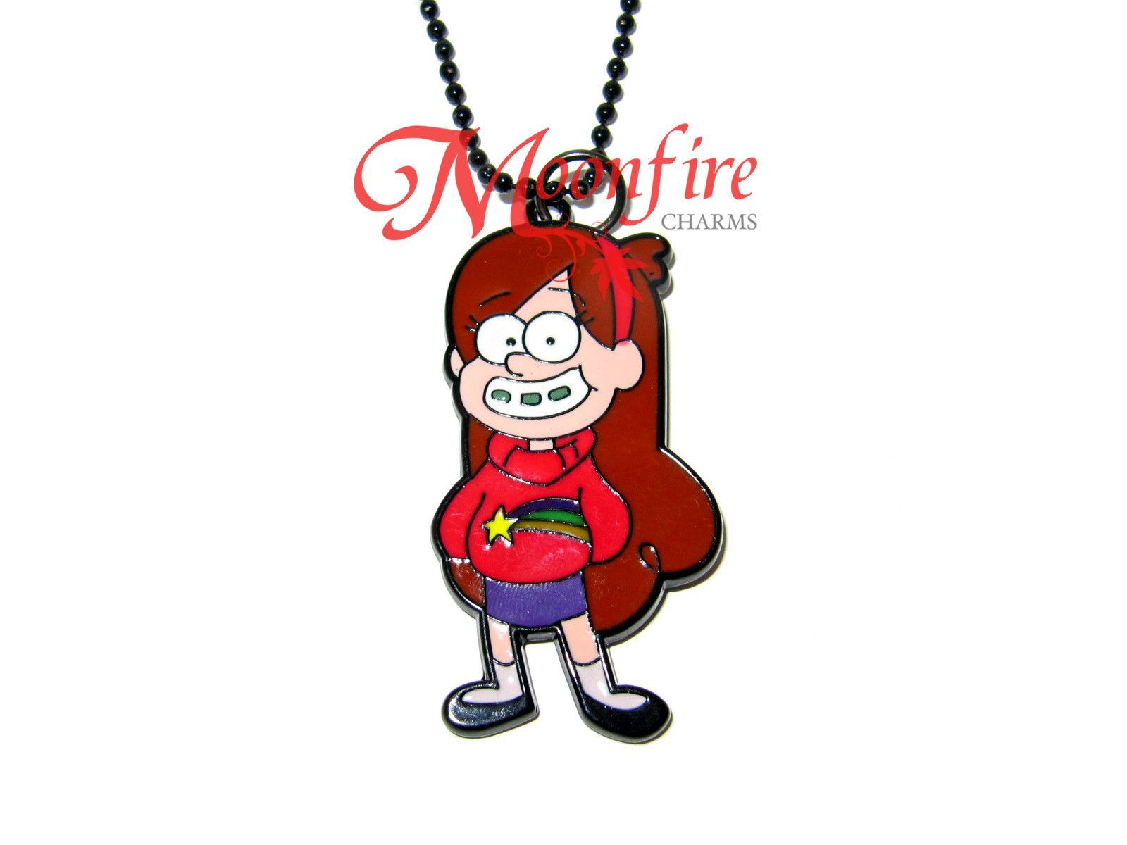 GRAVITY FALLS Mabel Character Pendant Necklace