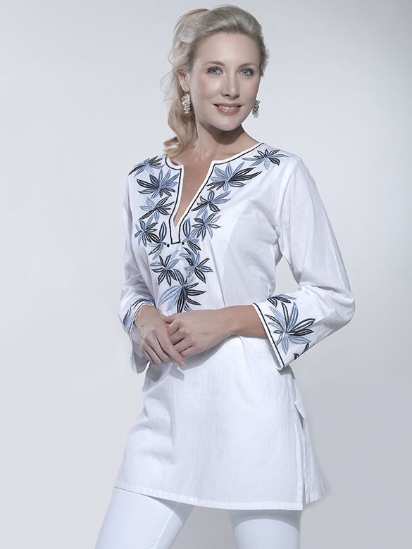 Pin de Vita Z en Вишитий одяг | Pinterest | Linen tunic, Embroidery ...