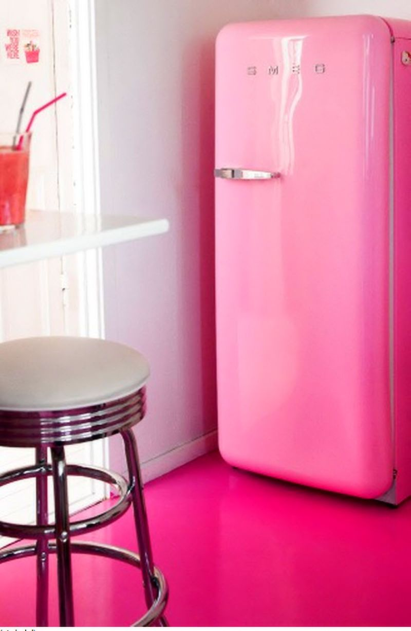 Retro-PINK Fridge Reposted by Dr. Veronica Lee, DNP (Depew/Buffalo ...