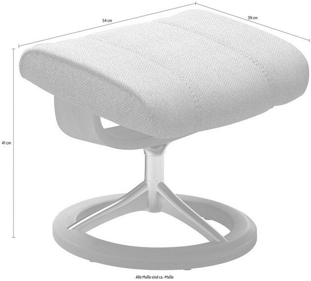 Photo of Stressless® Fußhocker »Consul«, mit Signature Base, Gestell Eiche online kaufen | OTTO